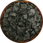 Black Lava Cyprus Flake Sea Salt
