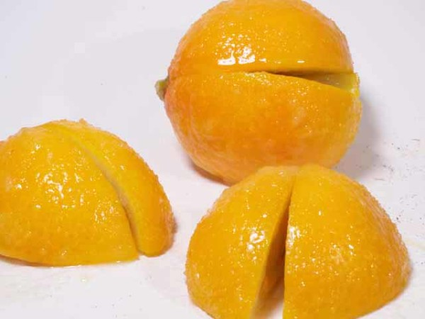Preserved Meyer Lemon (Sweet)