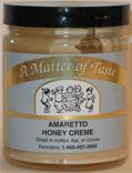 Amaretto Honey Cream