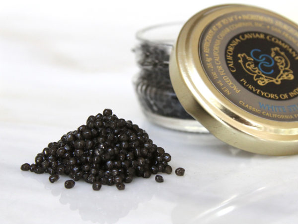 Caviar, White Sturgeon – Classic Farmed