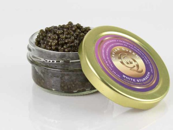 Caviar, White Sturgeon – Queen's Reserve