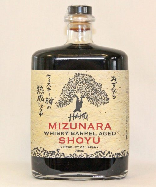 Haku Mizunara Whisky Barrel Aged Shoyu